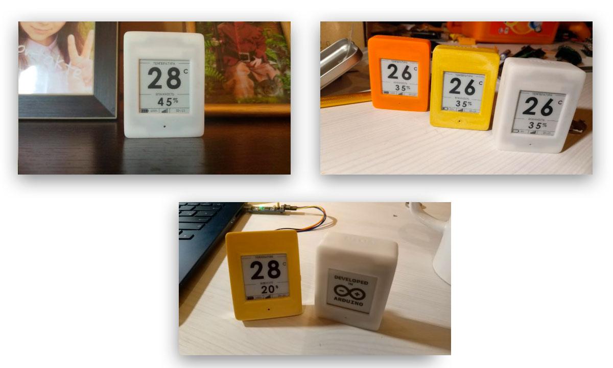 Беспроводной DIY датчик температуры и влажности с e-paper дисплеем - 7