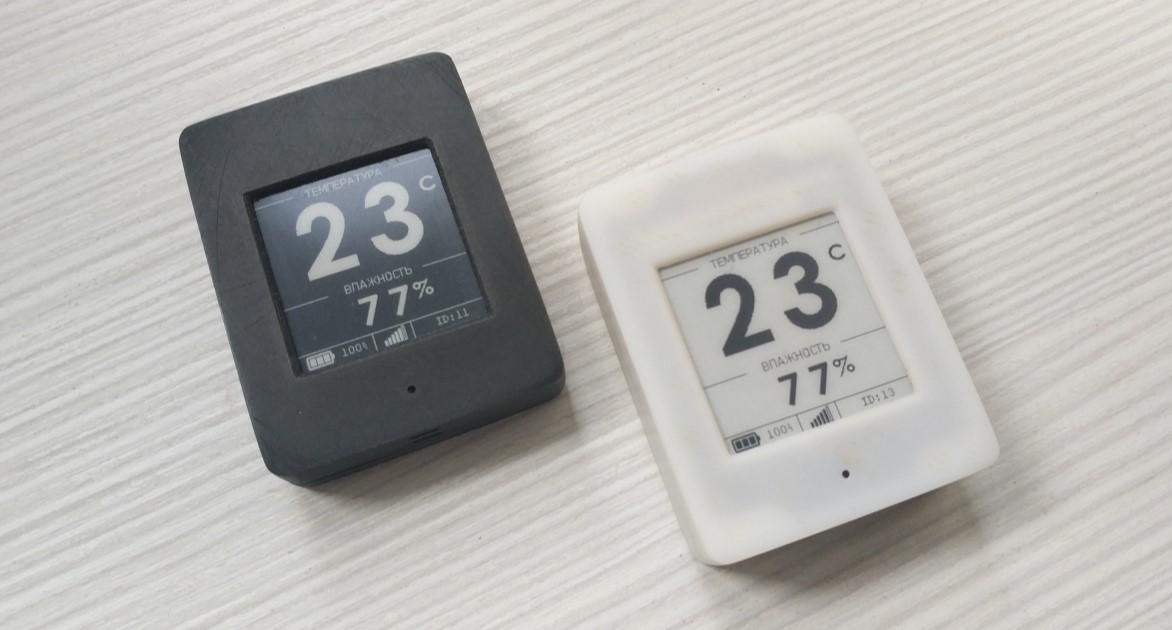 Беспроводной DIY датчик температуры и влажности с e-paper дисплеем - 1