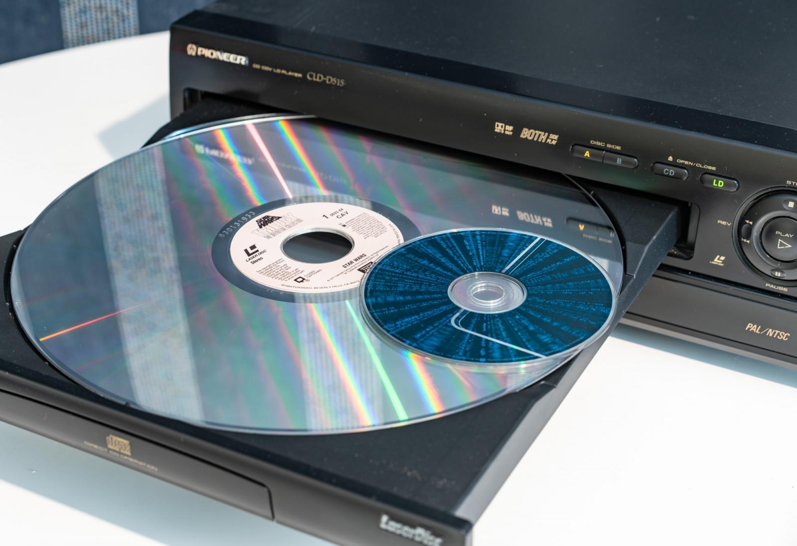 Лазерные видеодиски, ретрокино и автореверс - 2