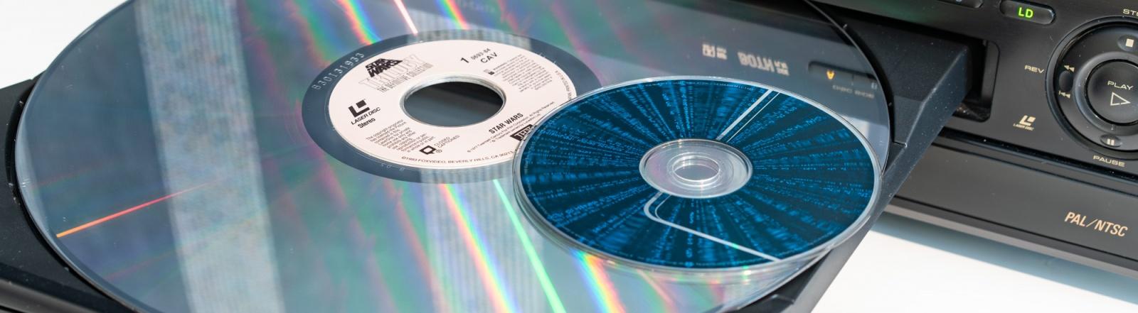 Лазерные видеодиски, ретрокино и автореверс - 1