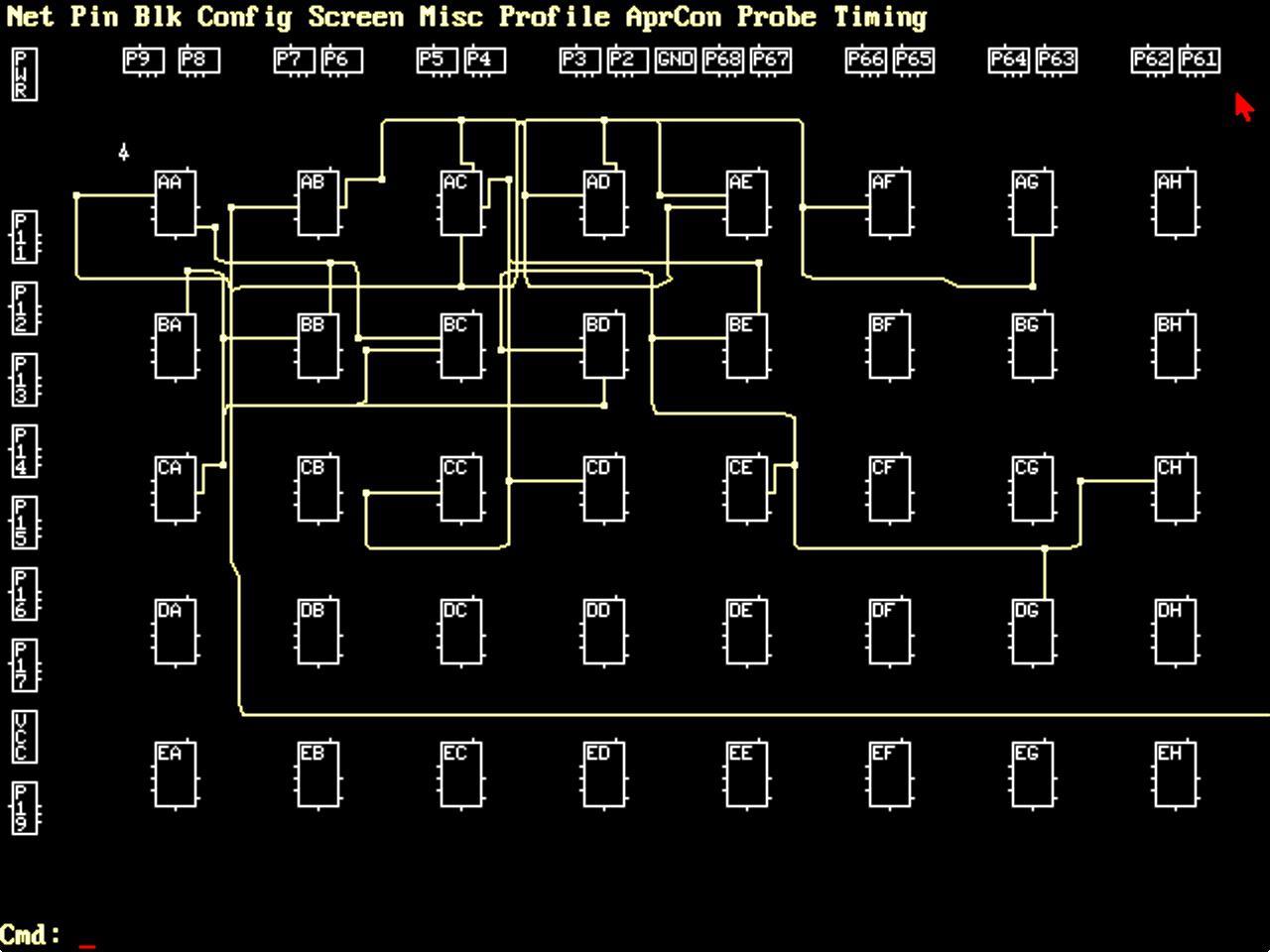 Обратная разработка XC2064 — первой микросхемы FPGA - 10