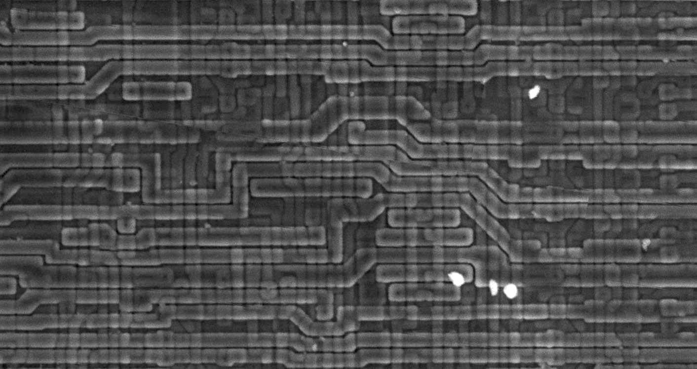 Обратная разработка XC2064 — первой микросхемы FPGA - 11