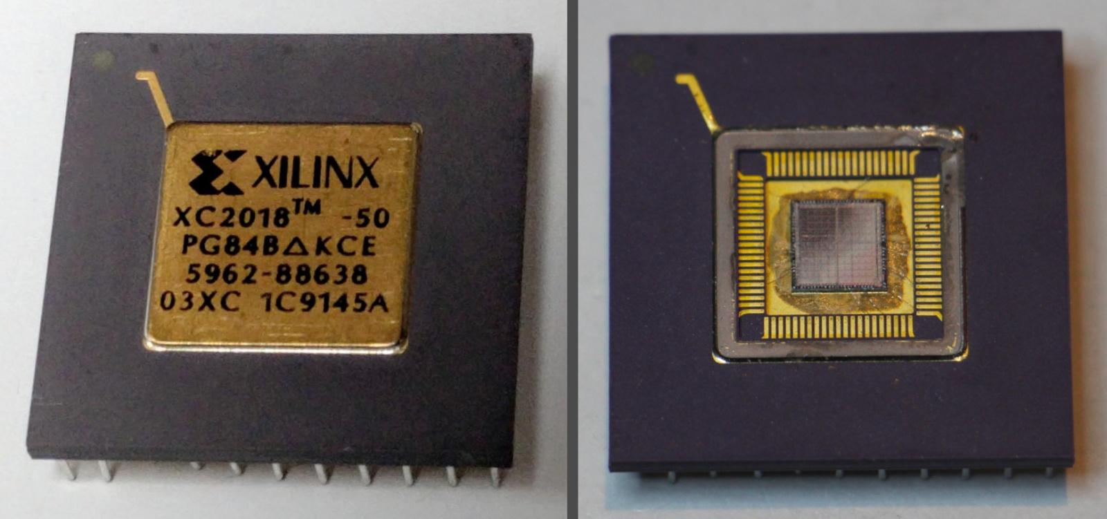 Обратная разработка XC2064 — первой микросхемы FPGA - 12
