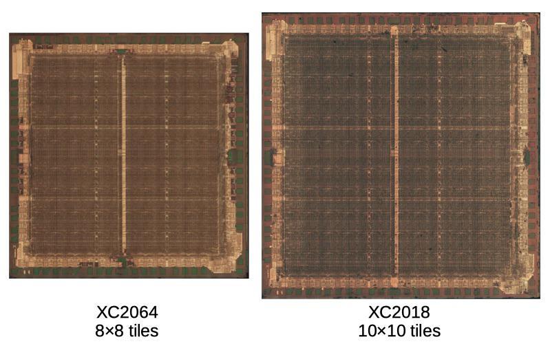 Обратная разработка XC2064 — первой микросхемы FPGA - 13