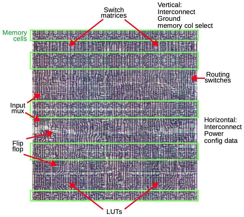 Обратная разработка XC2064 — первой микросхемы FPGA - 15