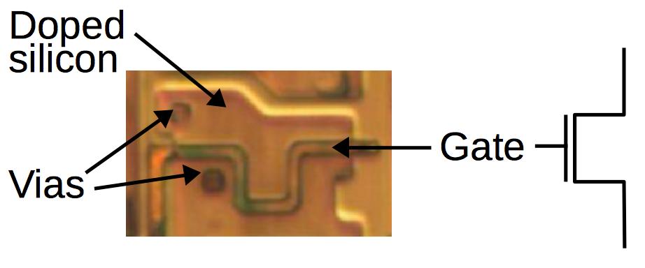Обратная разработка XC2064 — первой микросхемы FPGA - 17