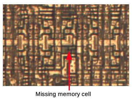 Обратная разработка XC2064 — первой микросхемы FPGA - 20