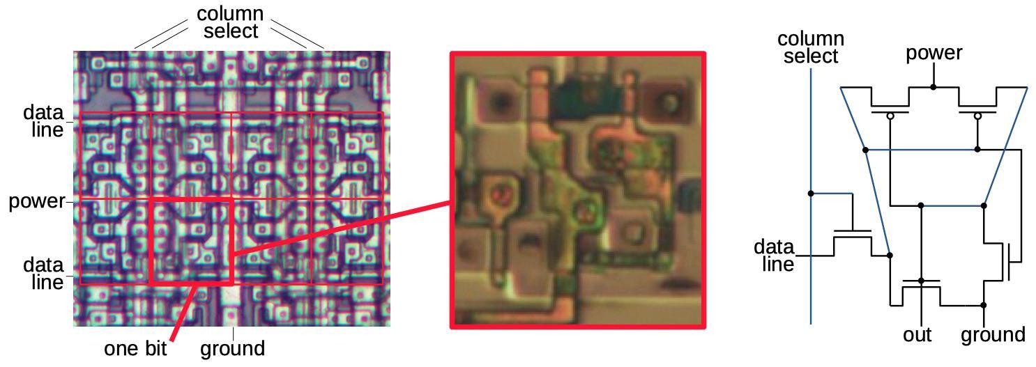Обратная разработка XC2064 — первой микросхемы FPGA - 22