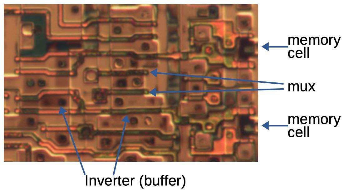 Обратная разработка XC2064 — первой микросхемы FPGA - 24