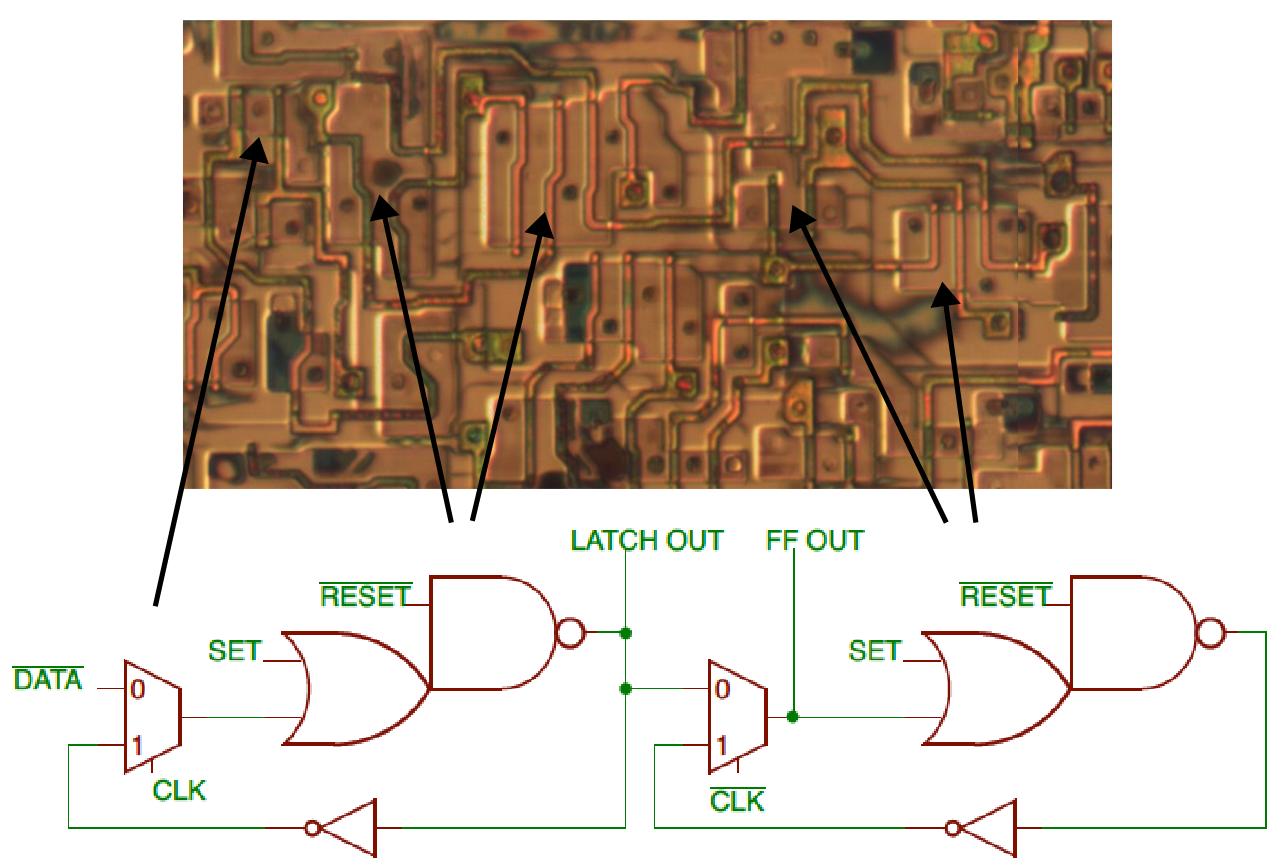 Обратная разработка XC2064 — первой микросхемы FPGA - 25