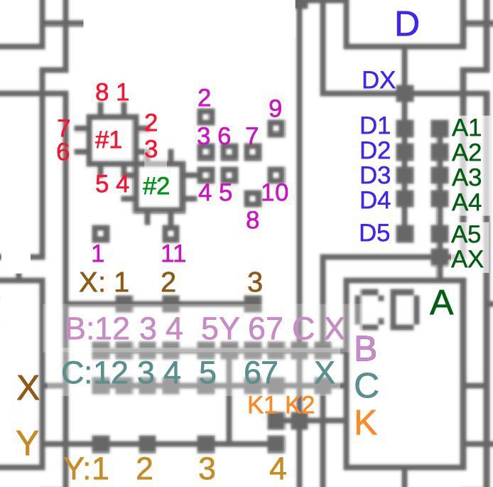Обратная разработка XC2064 — первой микросхемы FPGA - 31