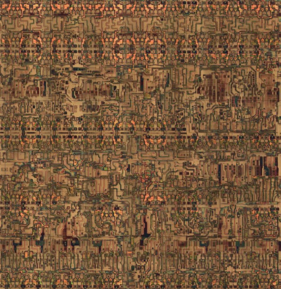 Обратная разработка XC2064 — первой микросхемы FPGA - 1