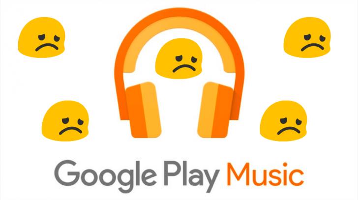 Google Play Music уже закрывается на Windows 10