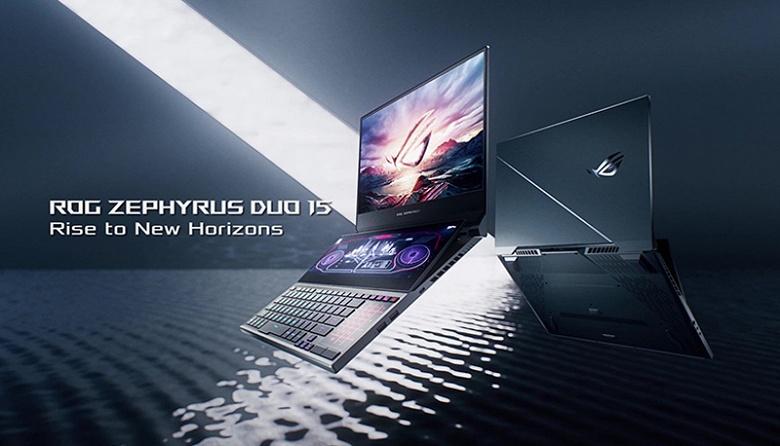 48 ГБ ОЗУ, Core i9 и два экрана. Представлена новая версия ноутбука Asus ROG Zephyrus Duo 15