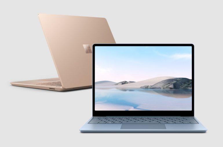 Microsoft представила бюджетный ноутбук Surface Laptop Go. Платформа Intel Ice Lake, масса 1,1 кг и 13 часов автономности за $550