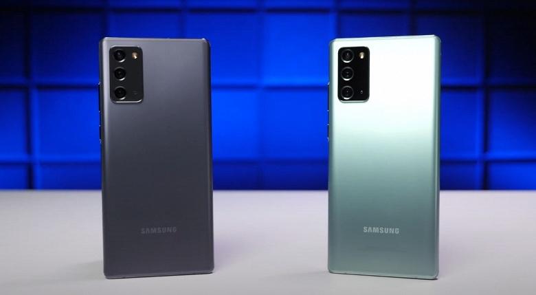 Ещё одна битва Exynos 990 против Snapdragon 865+. На сей раз сошлись две версии Samsung Galaxy Note20