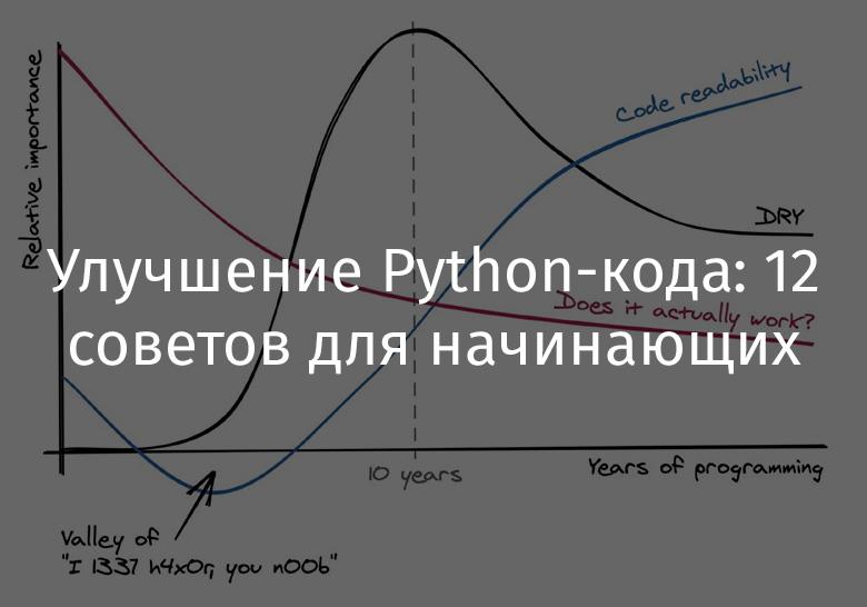 Улучшение Python-кода: 12 советов для начинающих - 1