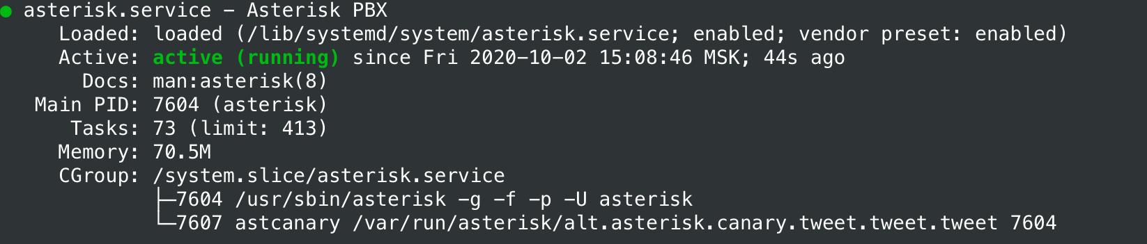 Виртуальная АТС. Часть 1: Простая установка Asterisk на Ubuntu 20.04 - 3