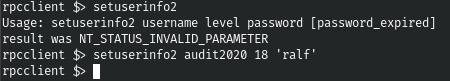 HackTheBox. Прохождение Blackfield. Захват контроллера домена через SMB и RPC, LPE через теневую копию - 9