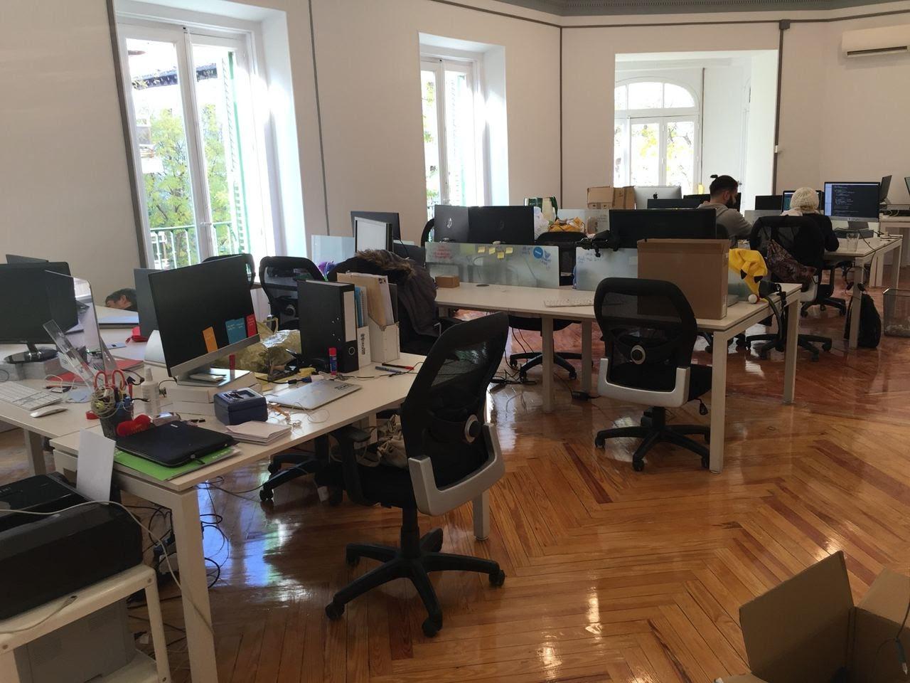 Первый офис – 520 квадратных метров в центре Мадрида