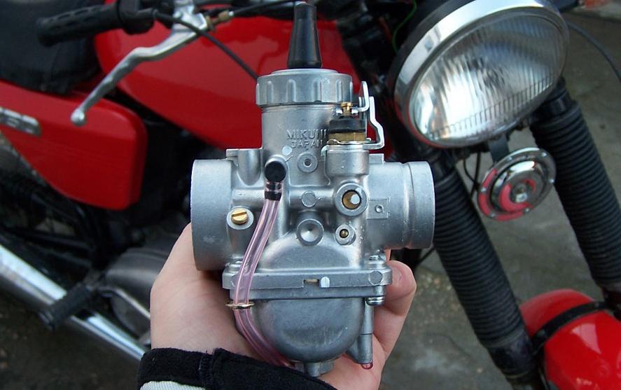 Карбюраторы мотоциклетного типа. Основные принципы - 1