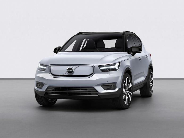 Пробег на одной зарядке более 400 км и мощность 410 л.с. Первый электромобиль Volvo запущен в производство