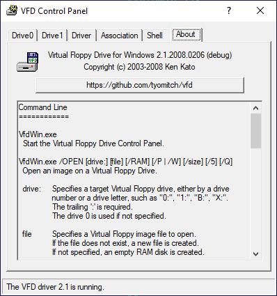 Вторая жизнь Virtual Floppy Drive - 1