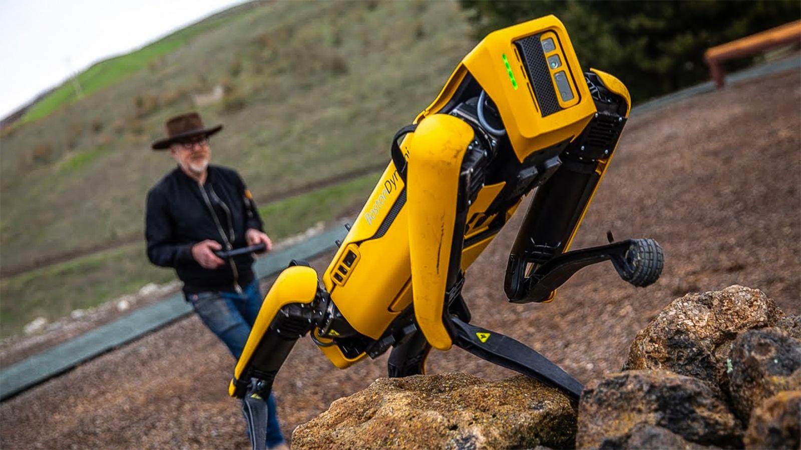 Как это устроено: робот Spot от Boston Dynamics - 14
