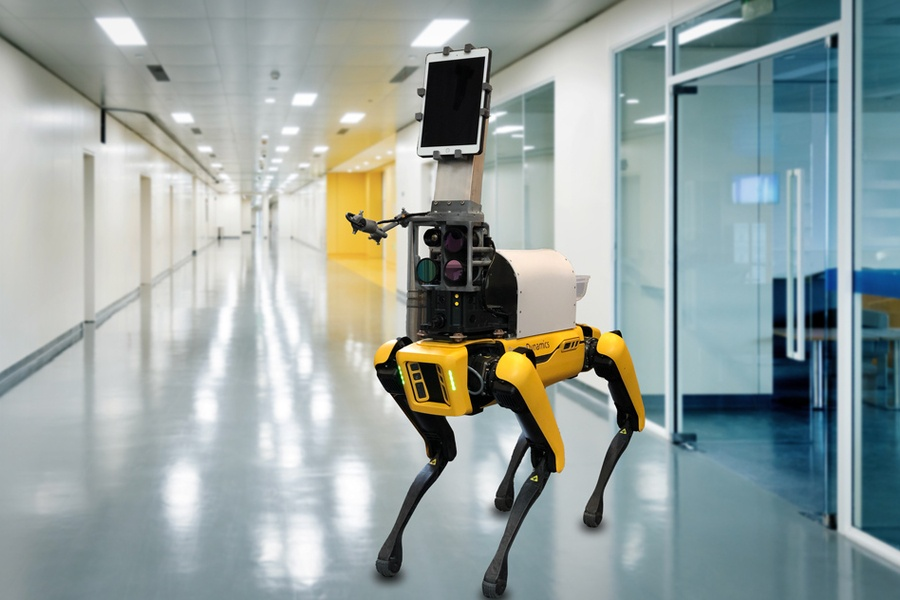Как это устроено: робот Spot от Boston Dynamics - 27