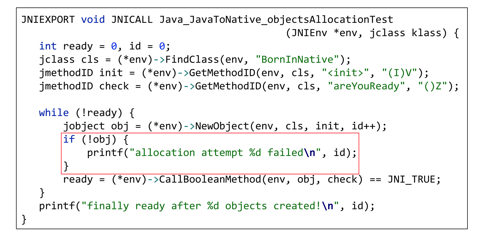 В нативный код из уютного мира Java: путешествие туда и обратно (часть 1) - 24