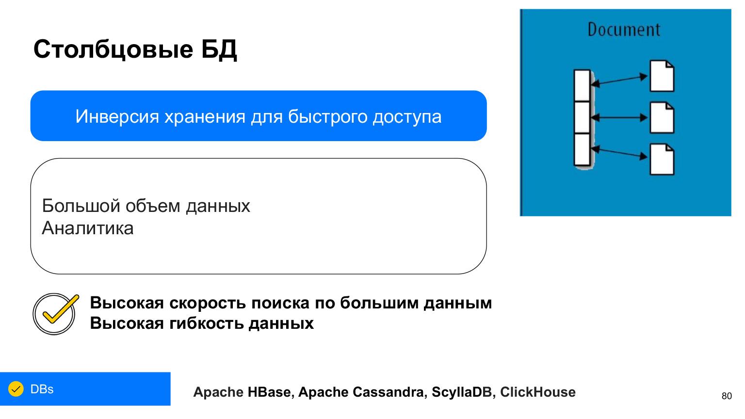 Базы данных: большой обзор типов и подходов. Доклад Яндекса - 47