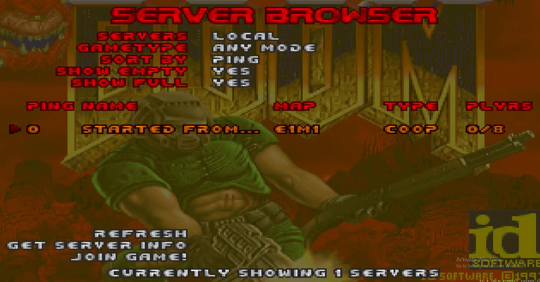 Сыграем в DOOM на серверах - 23