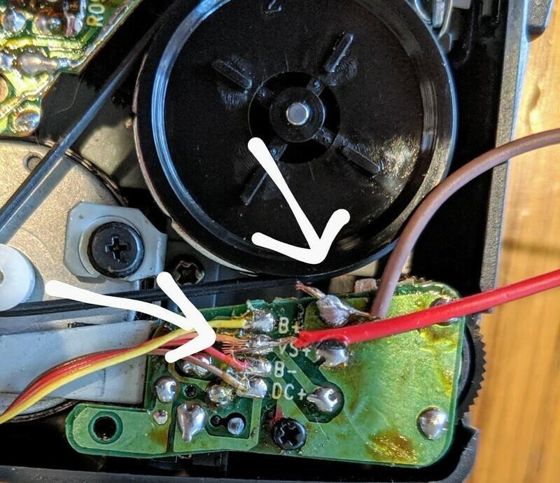 Делаем музыкальный инструмент из кассетного плеера - 3