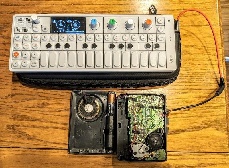Делаем музыкальный инструмент из кассетного плеера - 5