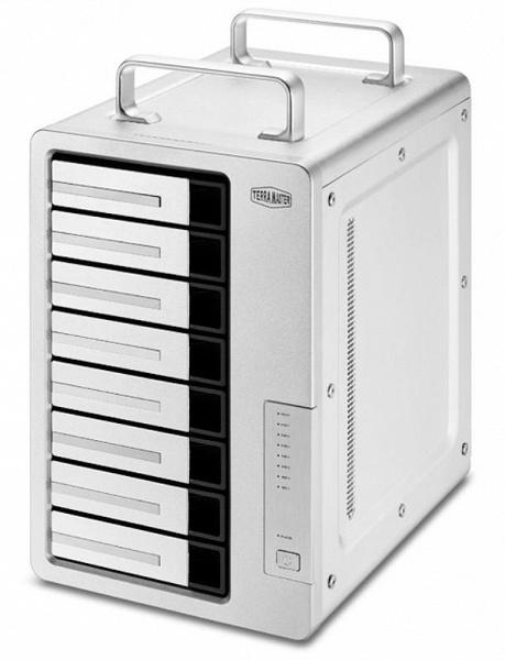 Хранилище TerraMaster D8 Thunderbolt 3 рассчитано на восемь накопителей