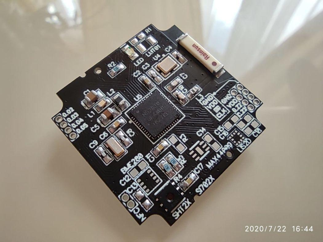 Мультисенсорный беспроводной микро DIY датчик - 11