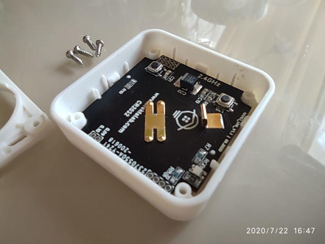 Мультисенсорный беспроводной микро DIY датчик - 13