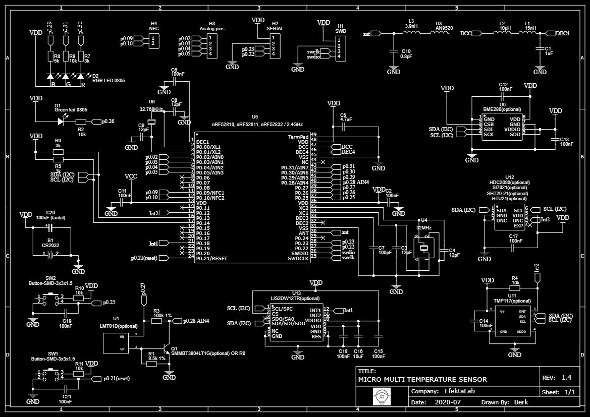 Мультисенсорный беспроводной микро DIY датчик - 7