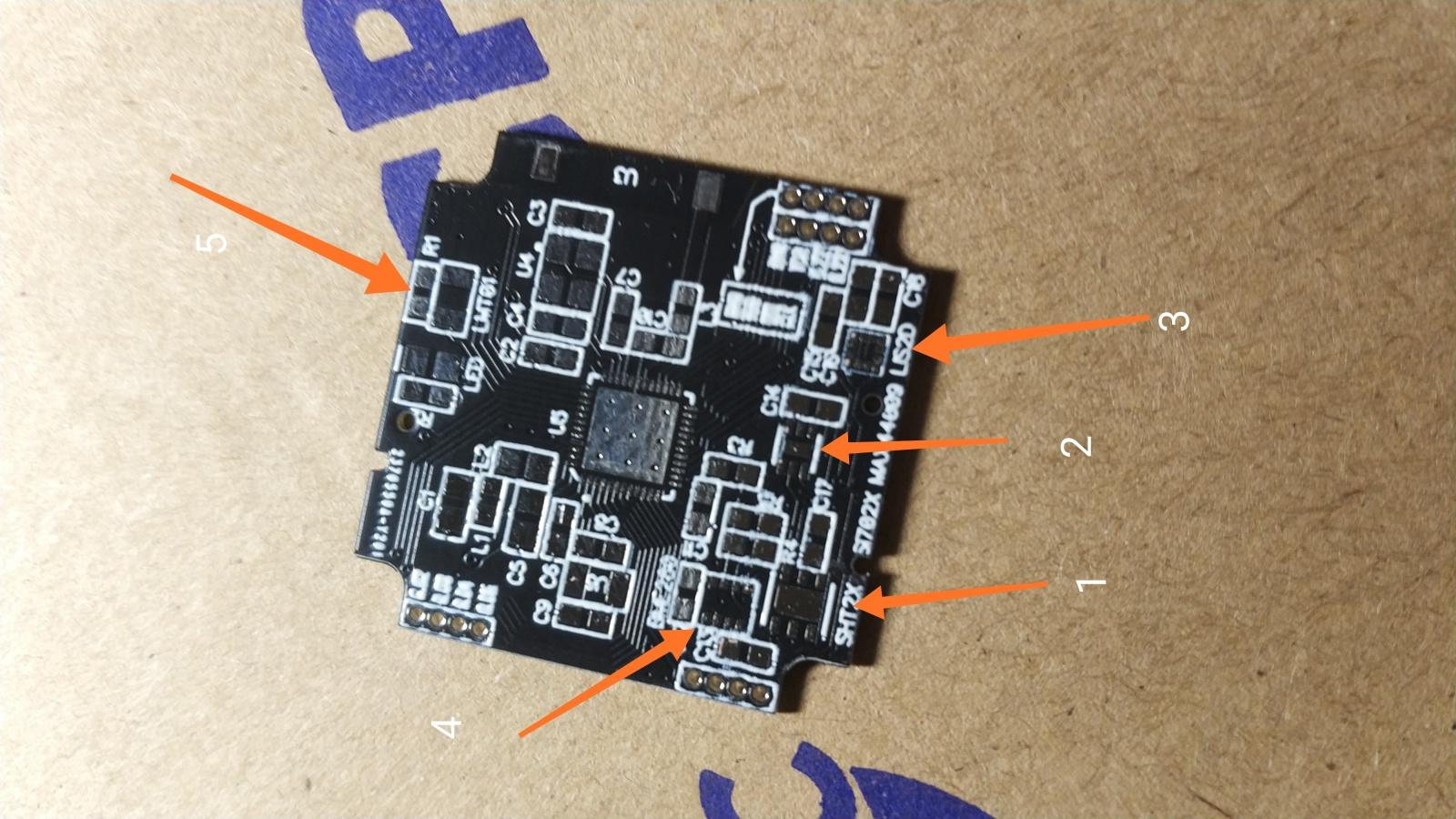 Мультисенсорный беспроводной микро DIY датчик - 8