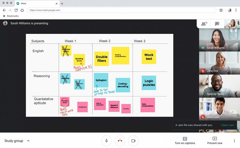 Альтернатива Zoom совершенствуется. Google запустила большое обновление Google Meet