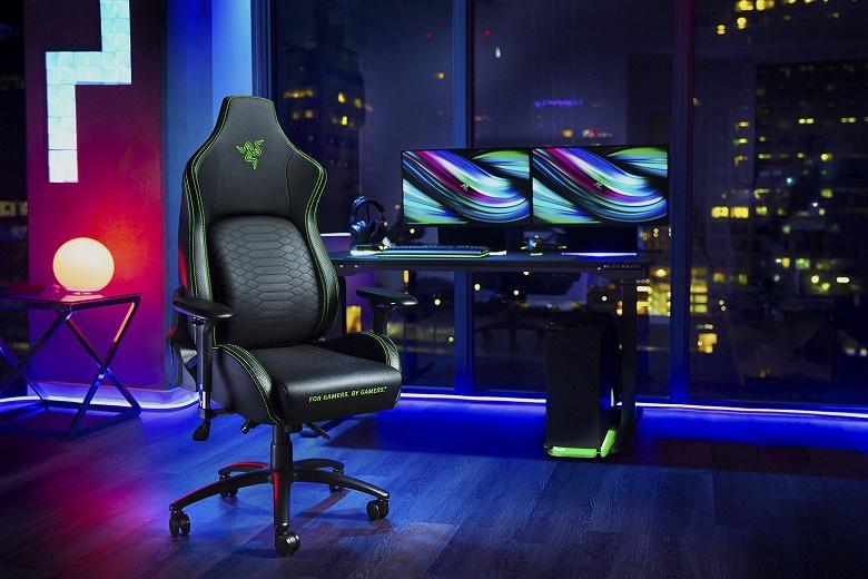 Геймерам на радость. Razer представила своё первое игровое кресло
