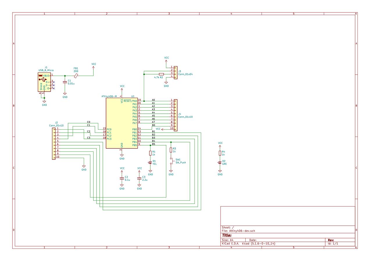 Низкоуровневое программирование микроконтроллеров tinyAVR 0-series - 3