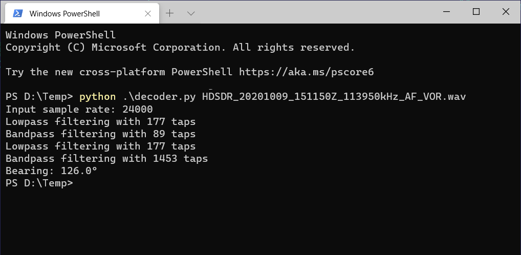 Определяем направление на аэропорт с помощью RTL-SDR и GNU Radio - 8