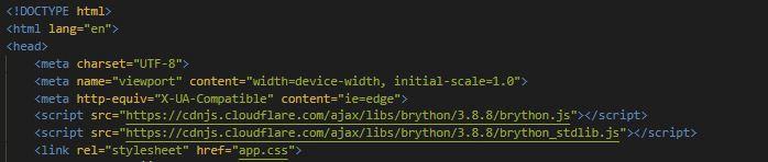 Вышел новый релиз «Python для браузеров», встречаем Brython 3.9 - 1