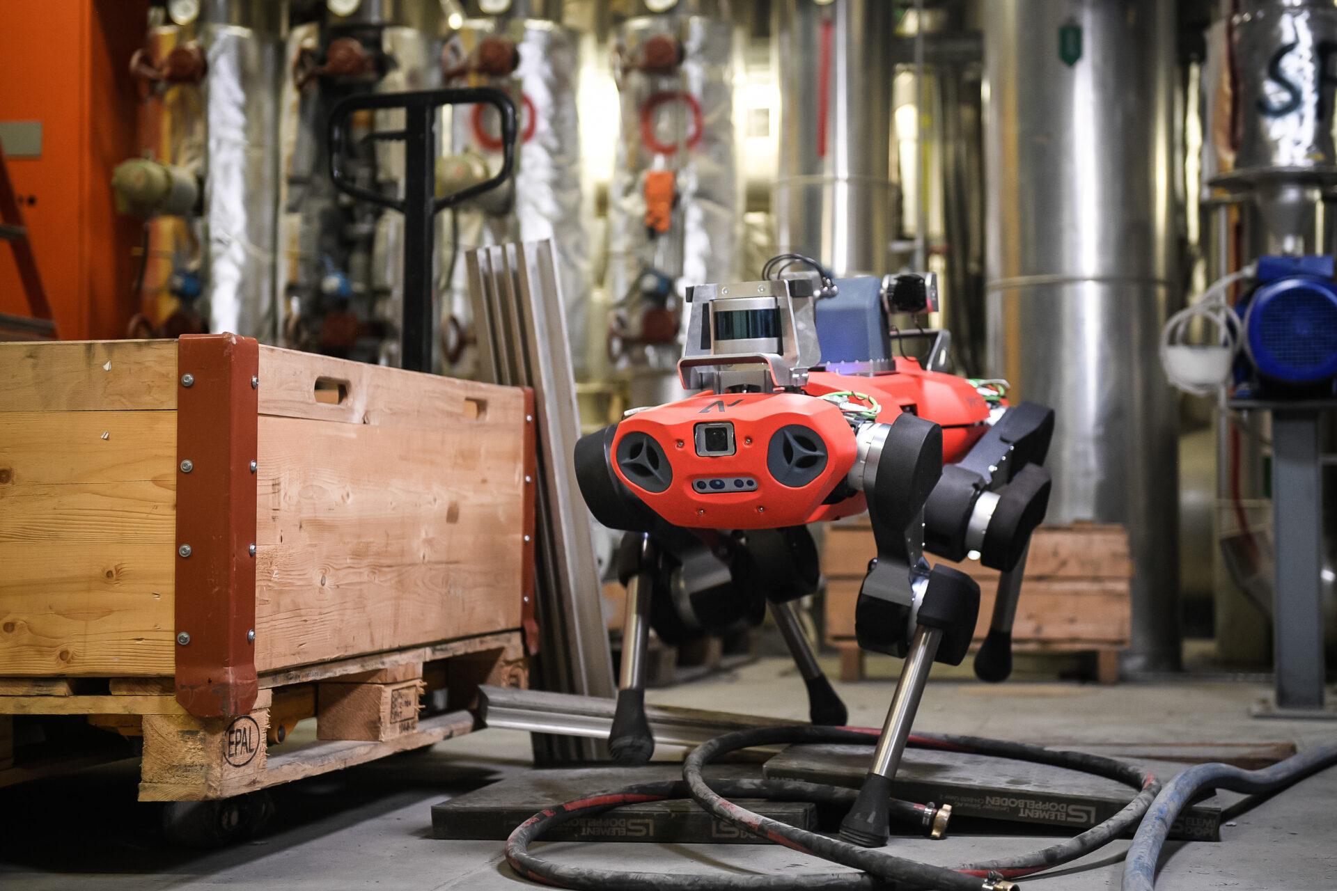 Как работает Spot от Boston Dynamics? Возможный ответ - 1
