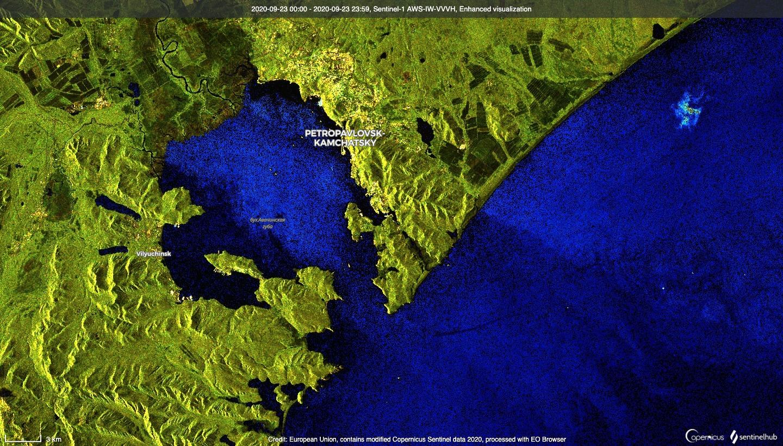Водоросли, танкер и шторм против Камчатки - 9
