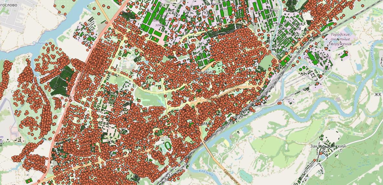 Рассказ об этапах работы над картой возраста домов Владимира - 3