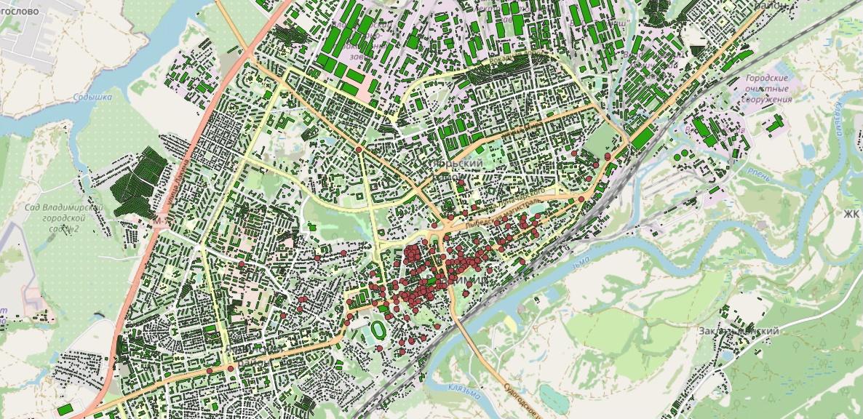 Рассказ об этапах работы над картой возраста домов Владимира - 4
