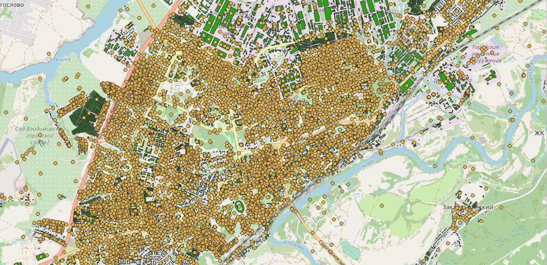 Рассказ об этапах работы над картой возраста домов Владимира - 5