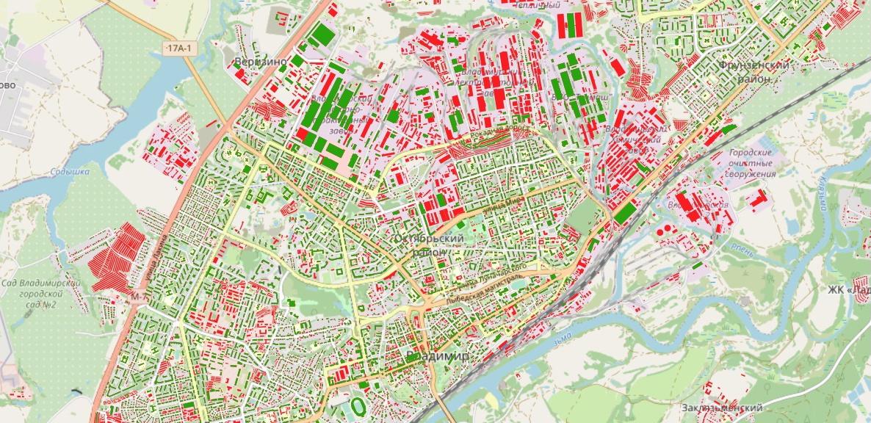 Рассказ об этапах работы над картой возраста домов Владимира - 6